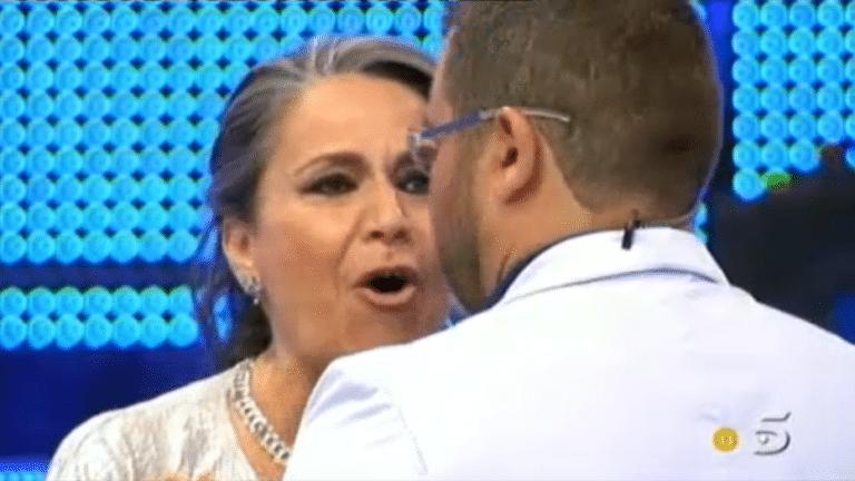 """Recordamos la bronca entre Jorge Javier y la madre de Aída Nízar: """"La hubiera llamado hija de puta"""""""