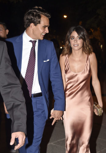 Actress and singer Tini Stoessel and Pepe Barroso Silva in Madrid on Wednesday 05 October 2016.