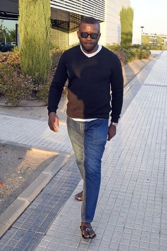 Tony Anikpe en Majadahonda, Madrid. 03/10/2016