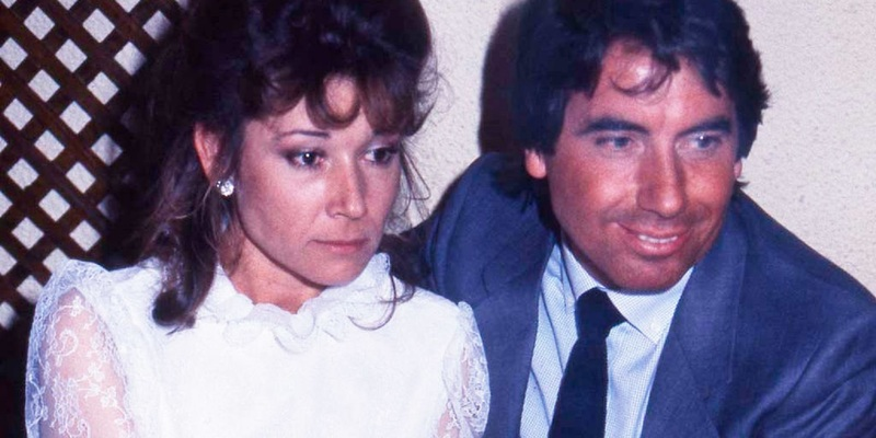 Mila Ximénez y Manolo Santana