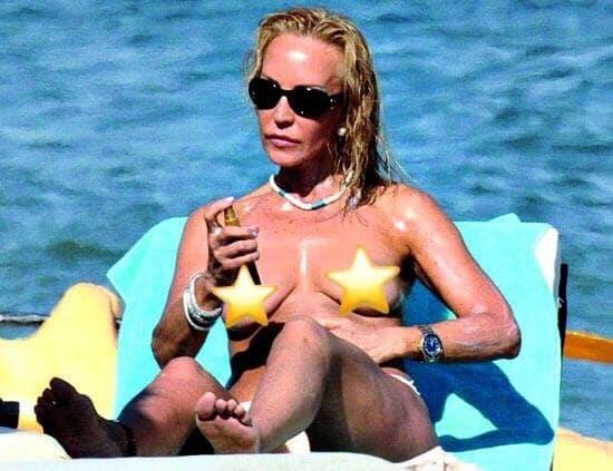 Carmen Lomana Sonia Ferrer Y Otras Famosas Que Hicieron Topless