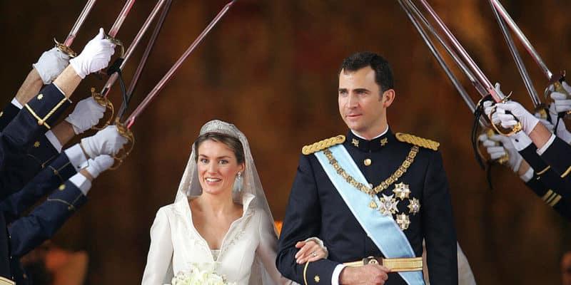 Letizia y Felipe boda real