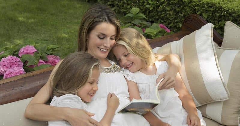 Letizia, Leonor y Sofía