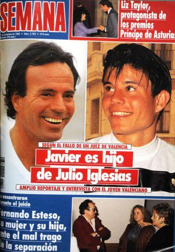 Julio Iglesias hijo Javier ilegítimo