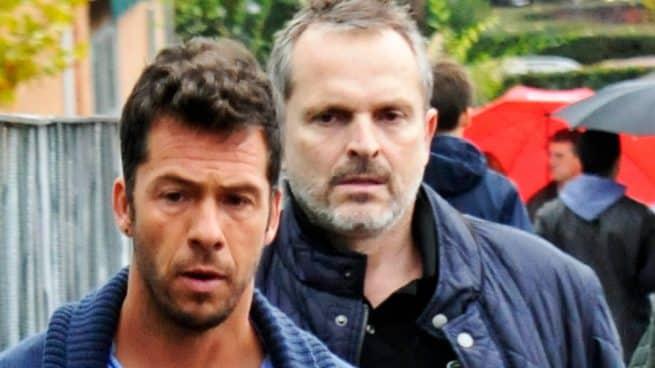 Miguel Bosé y Nacho Palao
