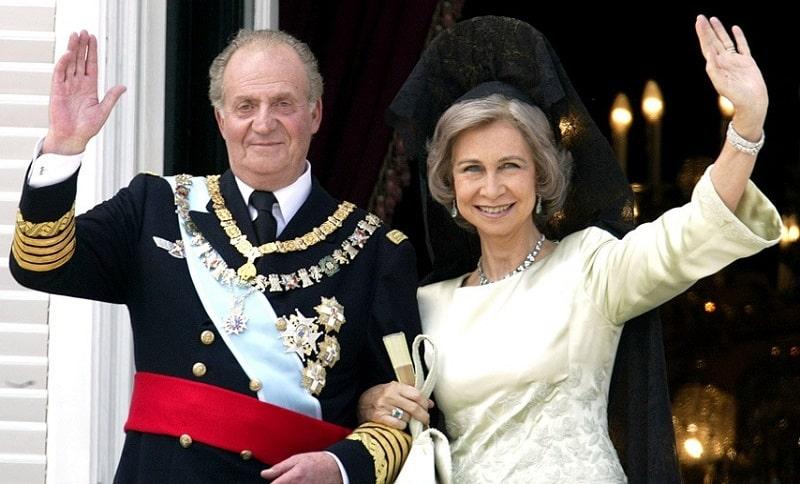 Reina Sofía y Rey Juan Carlos
