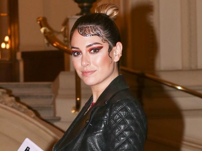 Blanca Suárez y su maquillaje fantasía exagerado.