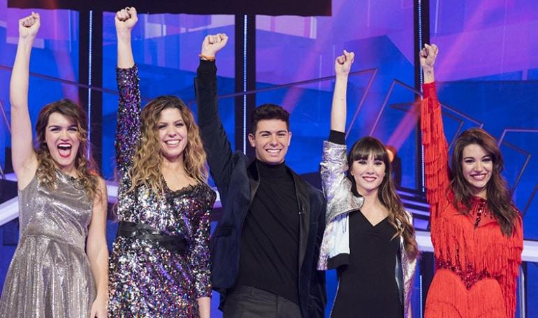 Amaia, Alfred, Aitana, Ana Guerra