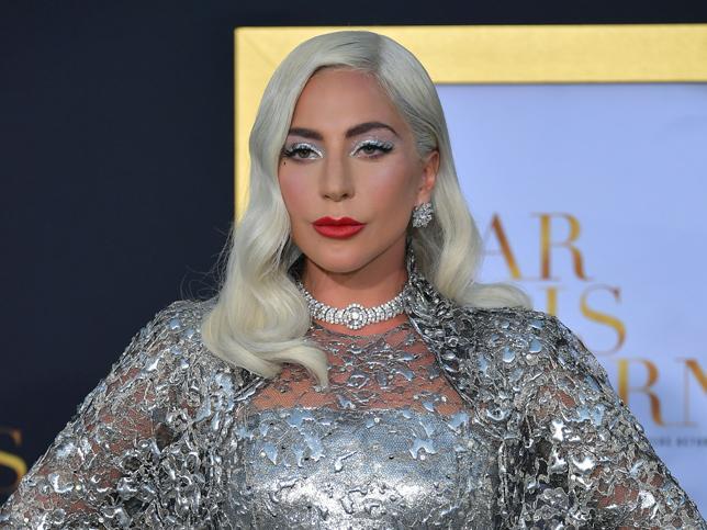 El maquillaje de Lady Gaga.