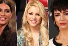 Shakira Ursula Corbero kim Kardashian Jennifer Lopez