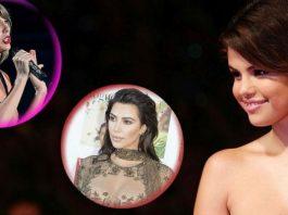 Selena Gómez, Kardashian y Taylor Swift