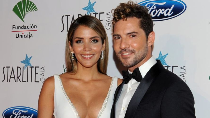 David Bisbal, Elena Tablada.