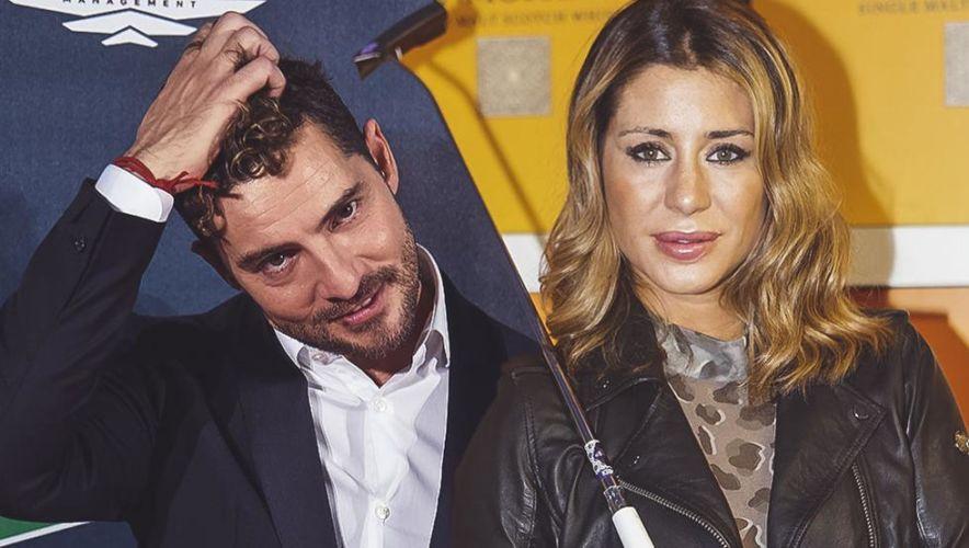 David Bisbal y Elena Tablada.