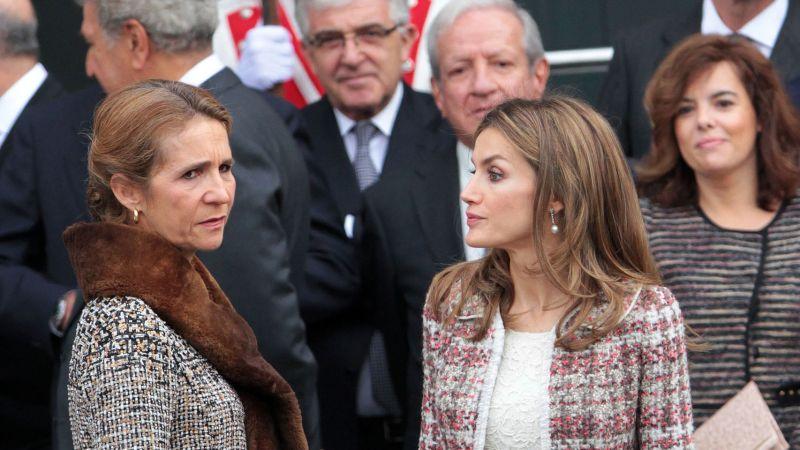 Elena y Letizia.