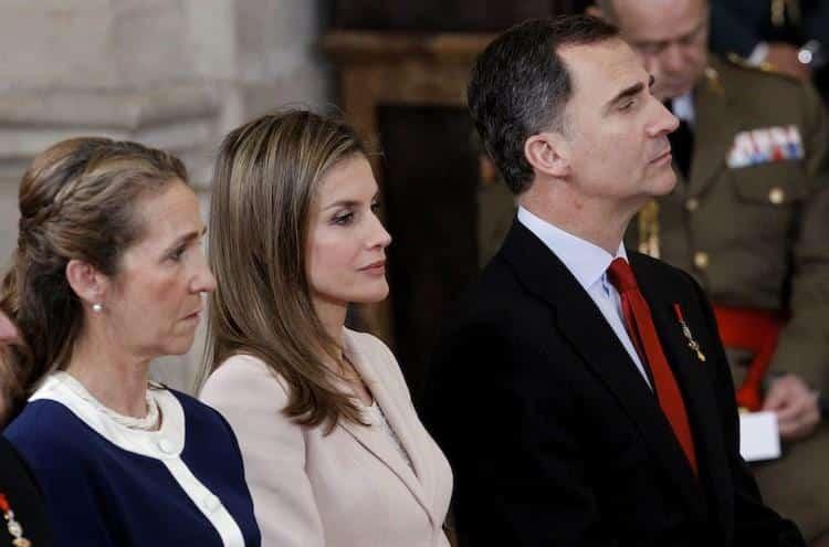 Felipe, Letizia, Elena