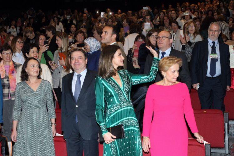 Letizia vestida por Sandro.