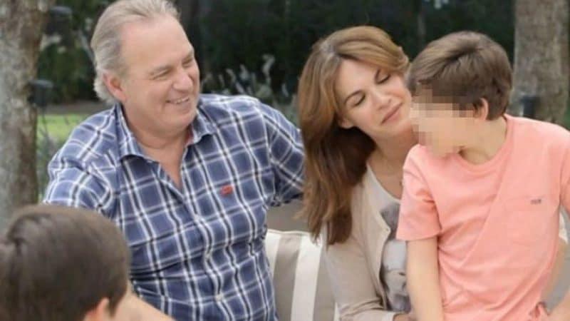 Bertín Osborne Fabiola Martínez y su hijo Kike