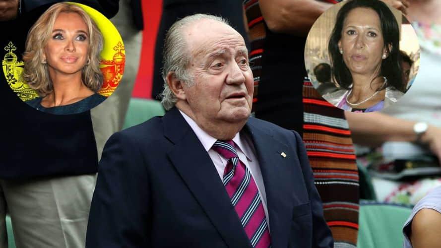Rey Juan Carlos Corinna y Marta Gayá