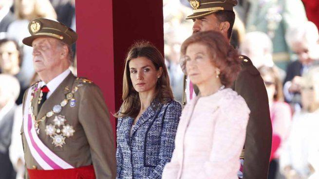 Letizia Felipe Juan Carlos Sofía
