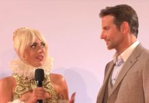 Lady Gaga and Bradley Cooper A Star is Born premiere por Sassy CC-BY 30