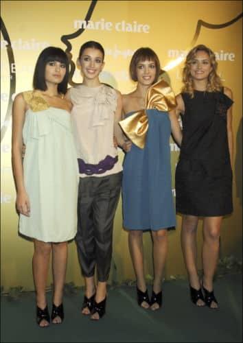 Las finalistas de Supermodelo 2007, entre ellas Alba Carrillo