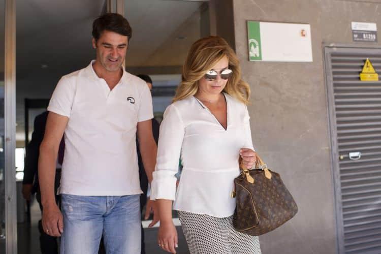 María José Campanario y su marido Jesulín acuden al abogado para tomar medidas