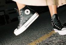 converse calzado mujer