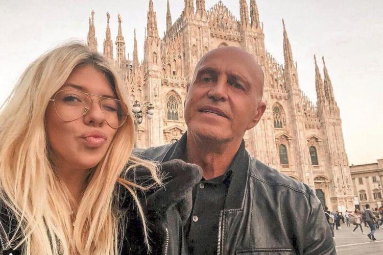 Anita y Kiko Matamoros en Milán