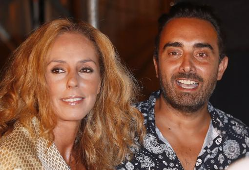Rocío Carrasco y Fidel Albiac Rocío Mestre