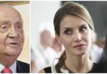 Reina Letizia y rey Juan Carlos