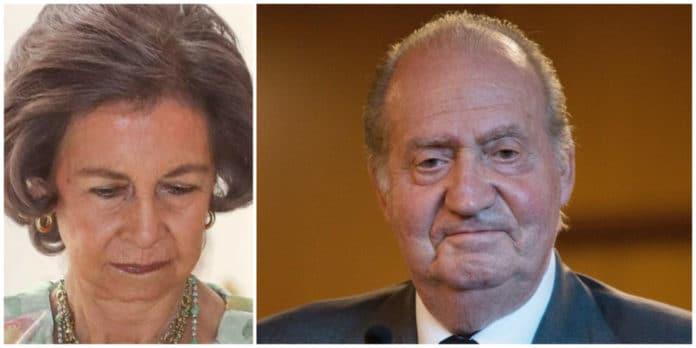 Doña Sofía y Don Juan Carlos