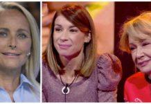 Mila Ximénez, Alba Santana y Lucía Pariente