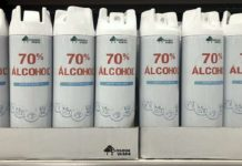 alcohol 70% de Mercadona