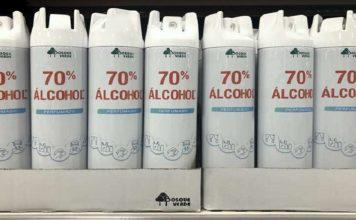 alcohol 70% de Mercadona