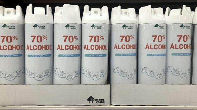 El innovador alcohol perfumado en Spray de Mercadona vende 50.000 unidades al día