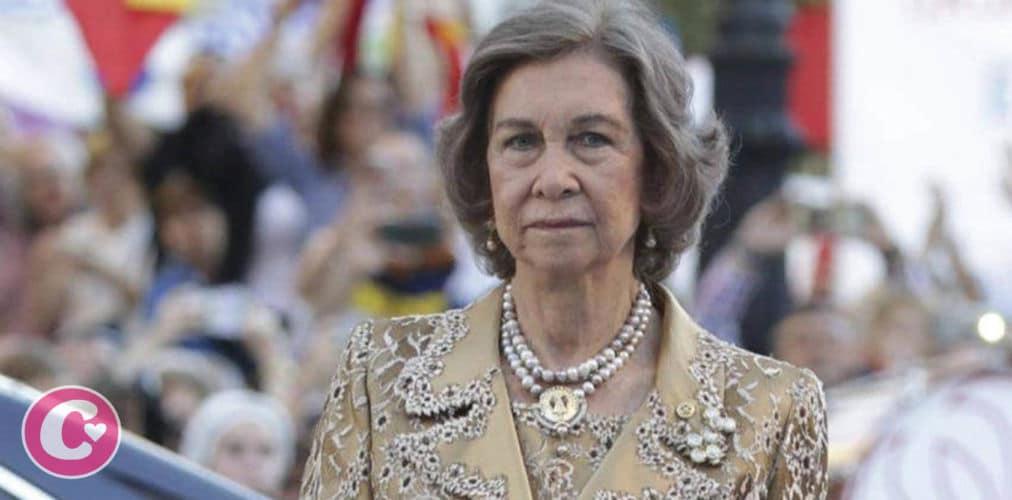 La Reina Sofía hundida tras recibir una de las peores noticias de su vida