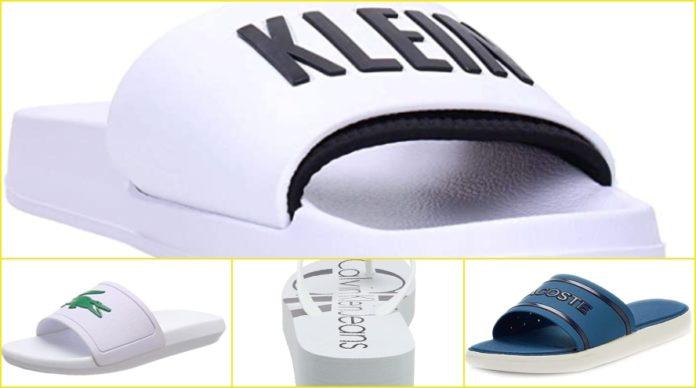 Amazon Las chanclas Calvin Klein y Lacoste de moda del verano 2020 y otras que le siguen
