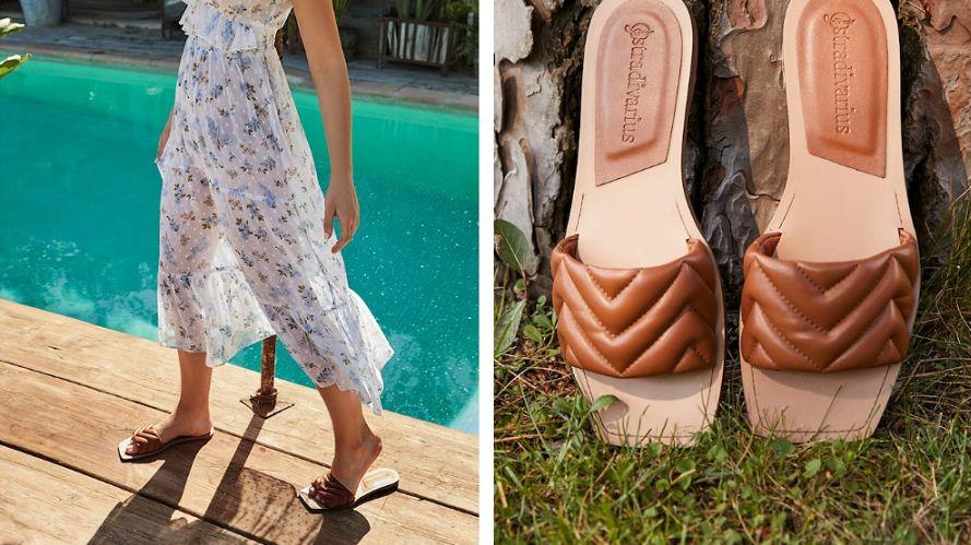 sandalias stradivarius moda