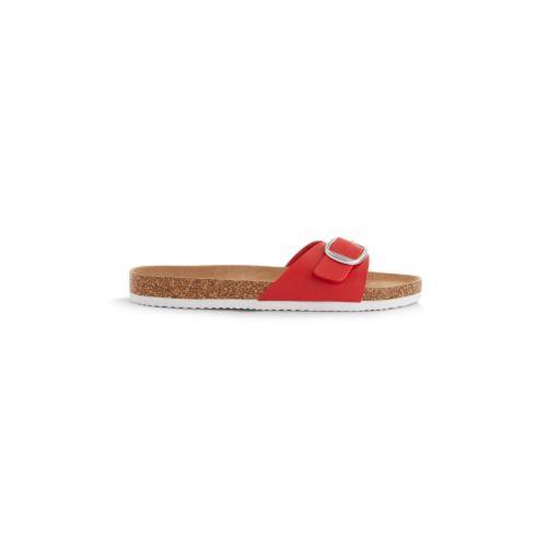 sandalis rojas primark