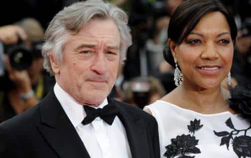 Robert De Niro con su exposa Grace Hightower