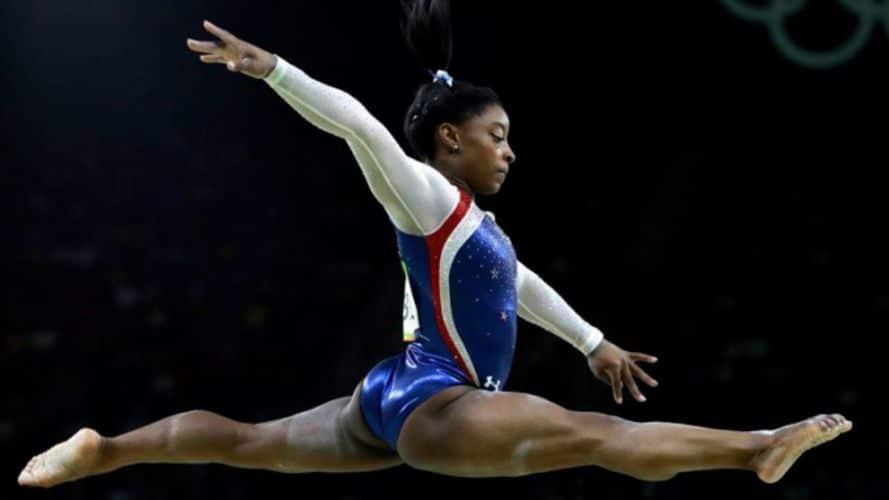 Gimnasta norteamericana Simone Biles