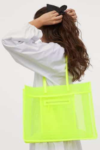 bolso de malla H&M