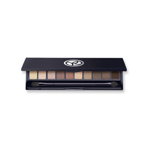 maquillaje paleta de sombras