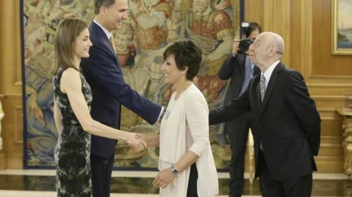 La reina Letizia y Sonsoles Ónega