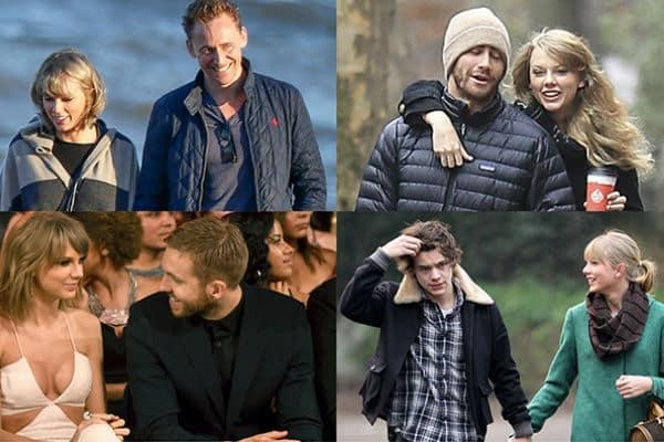 Taylor Swift y sus ex novios