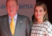 Juan Carlos y Letizia