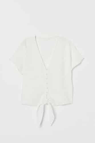 blusa nudo H&M