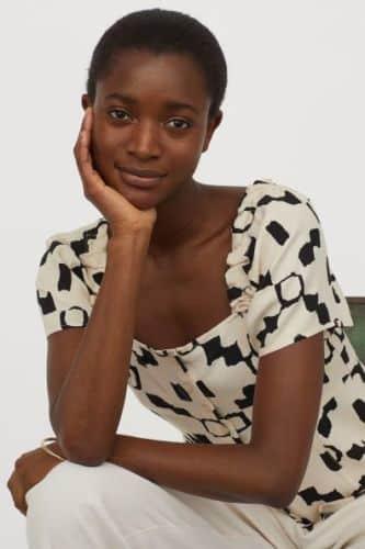 blusa puffy H&M