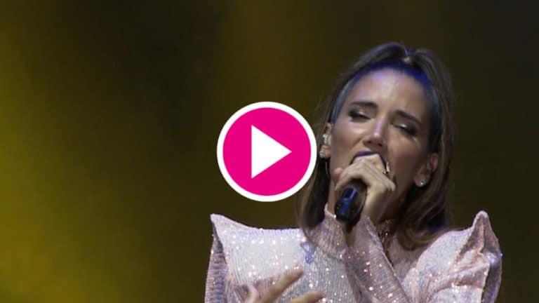 La emocionante actuación de India Martínez en Starlite Festival
