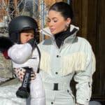 Kylie Jenner y su hija Stormi